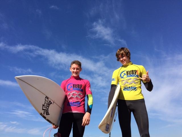 Finn MacDonald (SCO) and Andrew Robertson (SCO)